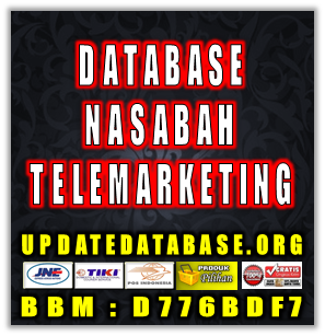 Jual Database Nasabah Prioritas Telemarketing