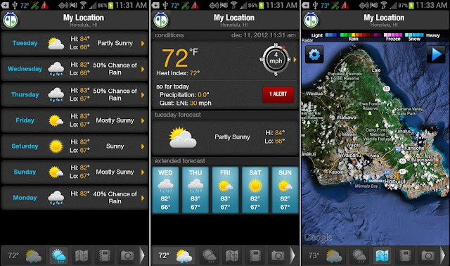 WeatherBug v4.6.0.10 Patched APK [Latest] is Here !