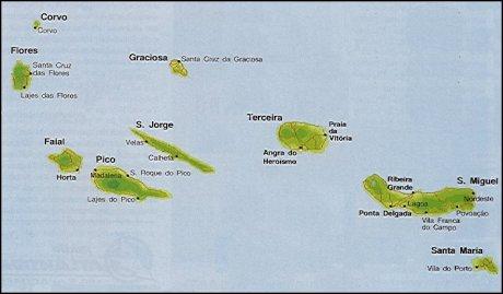 mapa do arquipelago dos acores Mapas Topográficos dos Açores para Garmin [FREE] • GeoPT. mapa do arquipelago dos acores
