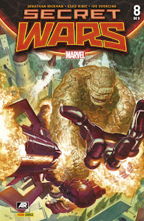 SECRET WARS 8 PORTADA ALTERNATIVA