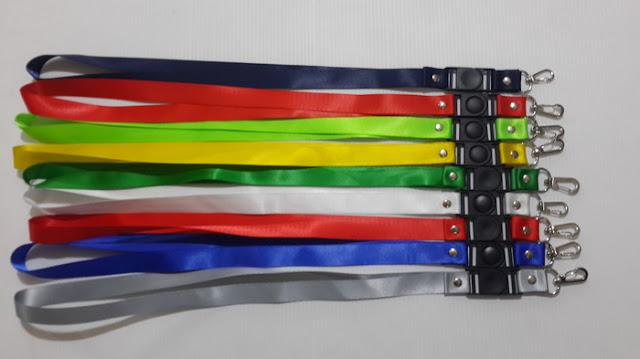 Pusat tali lanyard dan produksi tali ID card Tangerang