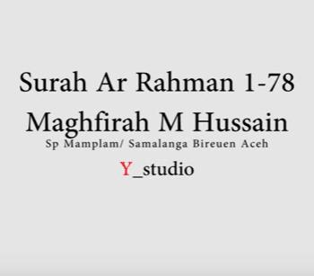 Surat Surah Ar Rahman Arab Latin Dan Terjemah Peraturan