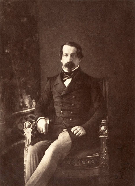 Photographic portrait of Louis-Napoléon / Napoleon III (1852) by Gustave Le Gray