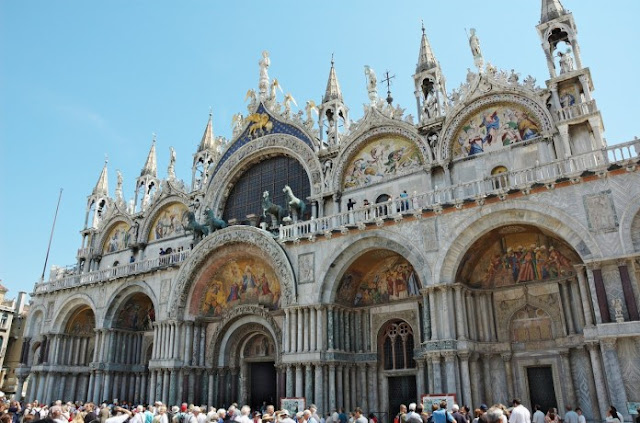 Basílica dourada em Veneza