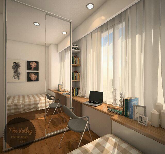 Desain Interior Kamar Tidur Rumah Mewah 02  - The Valley Interior Design