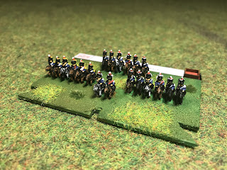 6mm figures of the 3rd Cavalry Brigade