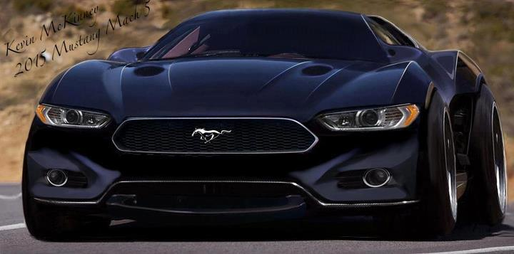 haha moment 2015 mustang mach 5 concept car