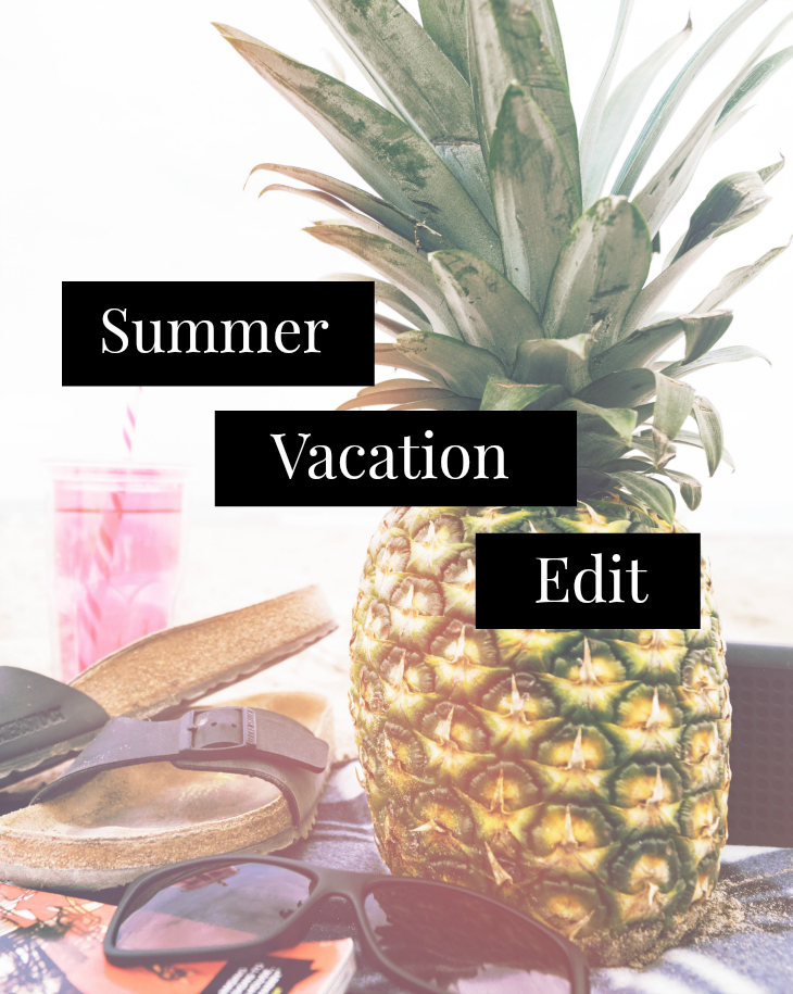 The Summer Vacation Edit - Essentials & Must Haves for being stylish on the beach, at the bar and for the city | Funky Jungle - Mindful fashion & quirky personal style blog