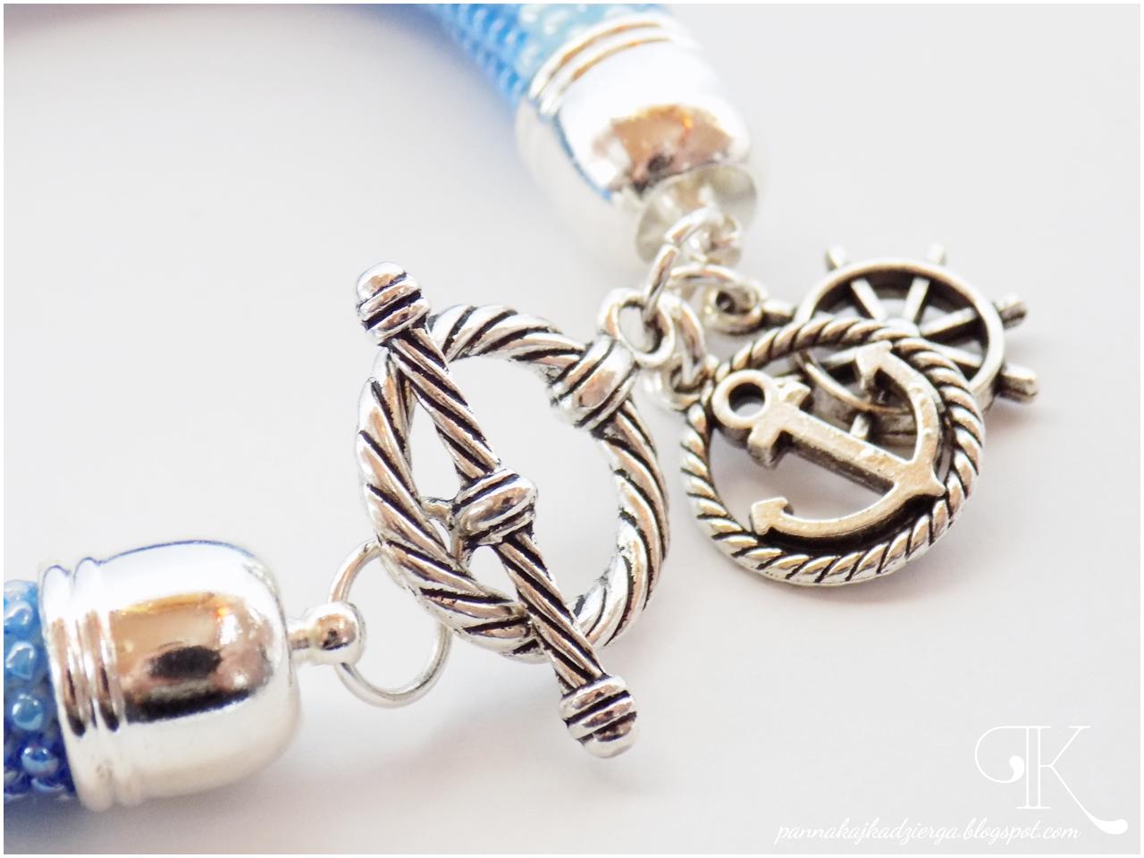 crochet rope, sznur szydełkowy, ukośnik, toho, bransoletki, biżuteria, handmade, rękodzieło