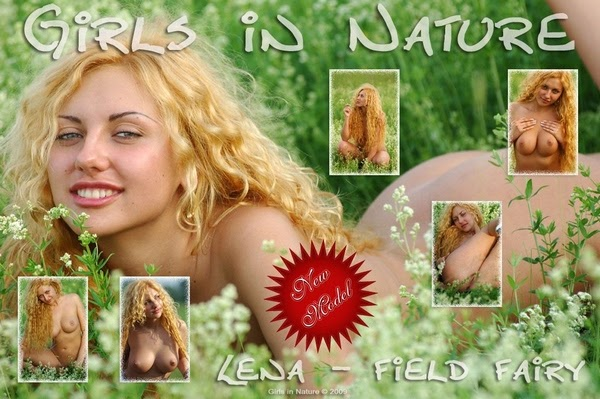 [GirlsInNature] Lena - Field Fairy - idols