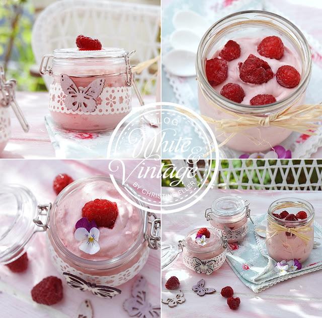 Dessert im Glas hübsch anrichten