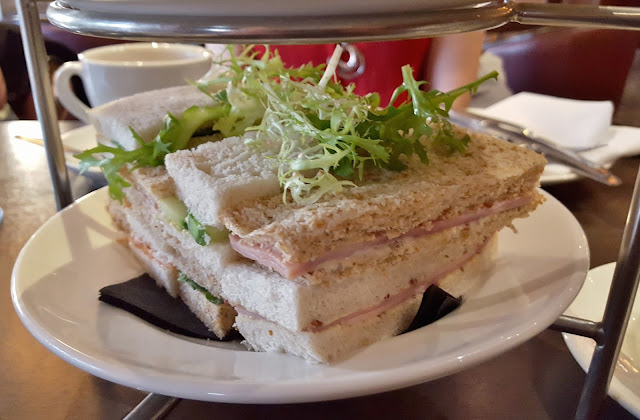 Afternoon tea Hilton York Sandwiches