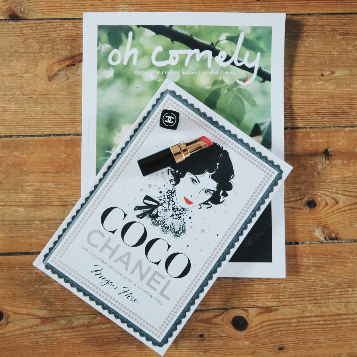 Oh Comely Magazine, Coco Chanel, Chanel Lipstick, Katie Writes,