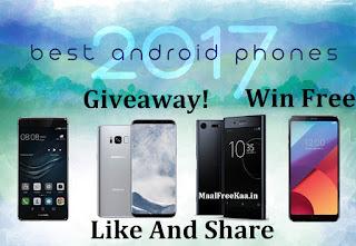 Free Giveaway Smartphone