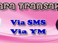 Format Transaksi Via SMS
