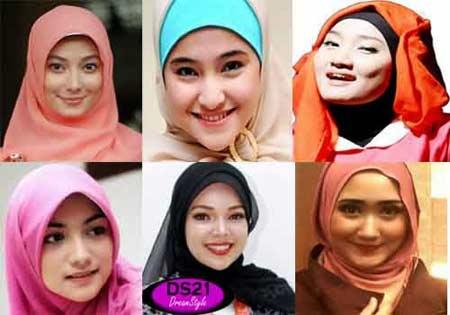 Tips Memilih Hijab Untuk Pipi tembem