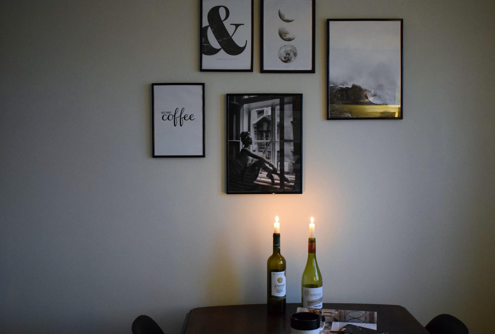 Desenio gallery wall