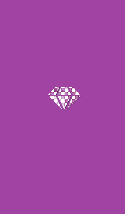 Pink dyed diamond