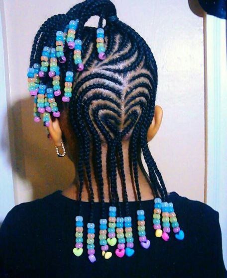 Children's Braids Black Hairstyles Photo