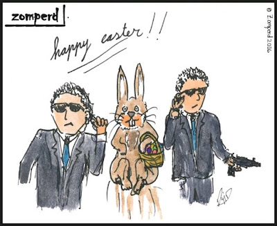 Zomperd - Happy Easter
