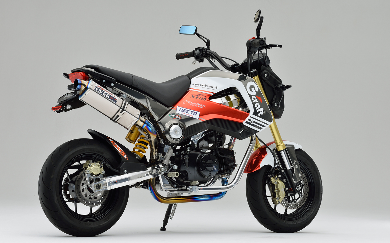 Racing Caf    Honda Grom by GCraft