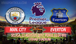 Prediksi Manchester City vs Everton 22 Agustus 2017