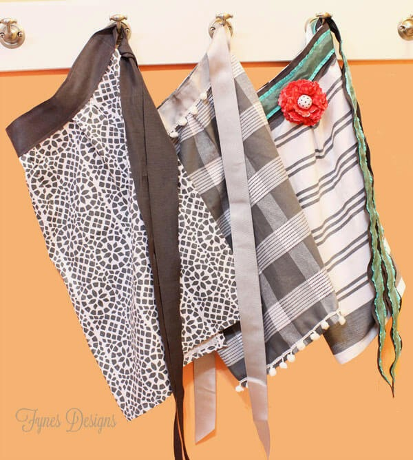 Fynes Designs ~ 10 Minute Dish Towel Apron