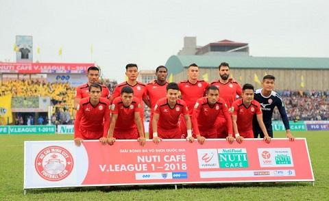 Đội hình thi đấu của CLB Bóng đá TP Hồ Chí minh