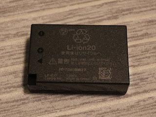 キヤノン バッテリーパック LP–E17 本体裏