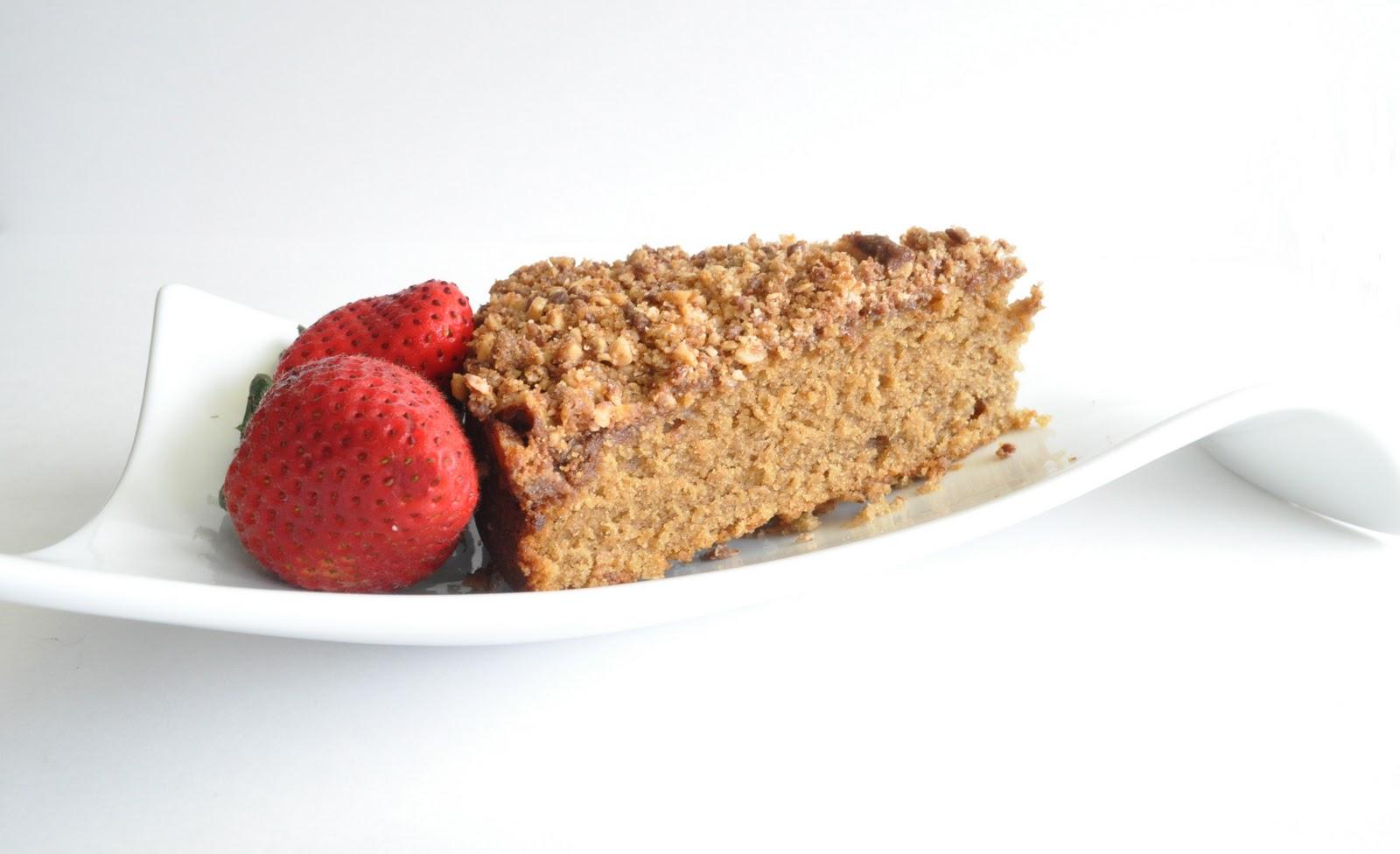 Heath Bar Crunch Coffee Cake
