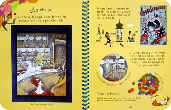 Mon livre d'art : Tableaux célèbres, éditions Usborne