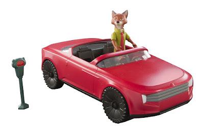 TOYS : JUGUETES - DISNEY Zootropolis Descapotable de Nick Wilde Vehículo + Muñeco - Figura Producto Oficial 2016 | Bizak - TOMY | A partir de 3 años Comprar en Amazon España & buy Amazon USA