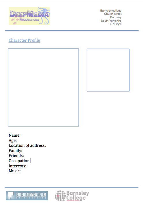 Character Profile Template | lol-rofl.com