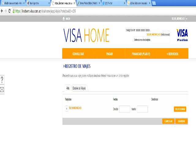 Compras en santiago de chile c mo autorizar tarjetas de - Habilitar visa debito para el exterior ...
