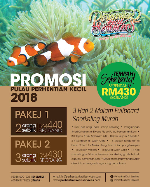 pakej pulau perhentian kecil murah 2018 , pakej snorkeling perhentian kecil 2018, Pakej pulau Malasyai 2018