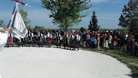 Η εορτή του Αγίου Γεωργίου από τον Σύλλογο Σαρακατσαναίων Ν. Πιερίας '' Ο ΚΑΤΣΑΝΤΩΝΗΣ'' .