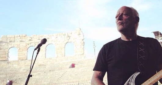 David Gilmour returns Live at Pompeii 45 years after Pink Floyd Live at Pompeii.