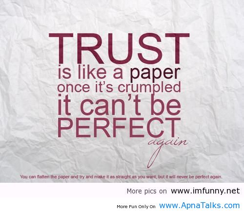 quotes about trust - photo #24