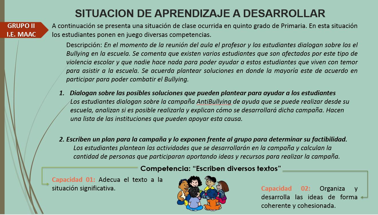 PERFIL DE EGRESO DEL CURRÍCULO NACIONAL | Currículo Nacional II