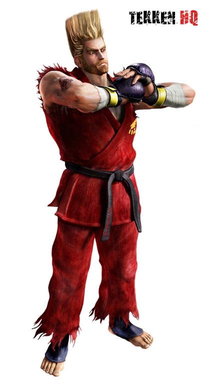 Paul Phoenix Tekken Headquarter