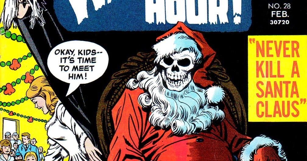 Author Chad Schimke : The Witching Hour feat. Never Kill Santa Claus circa 73
