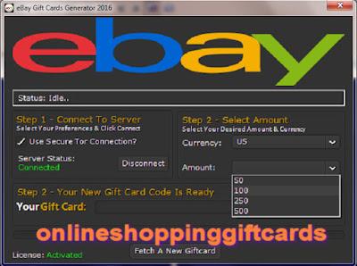Can i use amazon gift card on ebay / starblucks cf