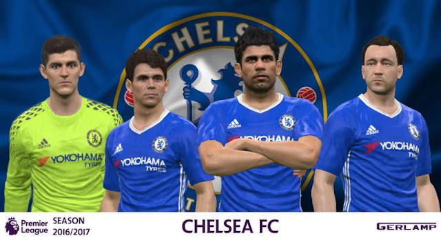 PES 2016 Chelsea Kit Season 2016/17