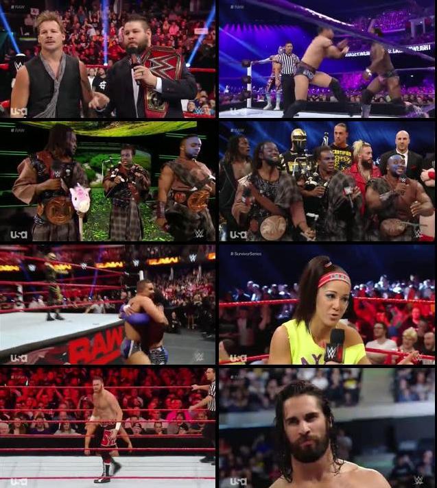 WWE Monday Night Raw 07 Nov 2016 HDTV 480p