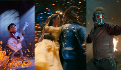 Coco, Beauty and the Beast and Guardians of the Galaxy Vol. 2 come to theaters this year.