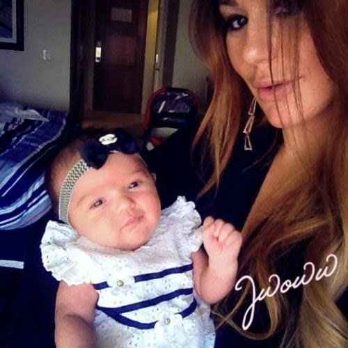 JWoww wears daughter