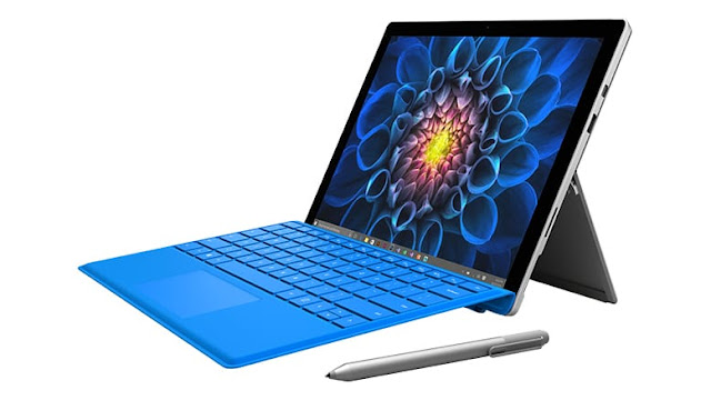 Surface Pro Battery lasts up to 13.5 hours