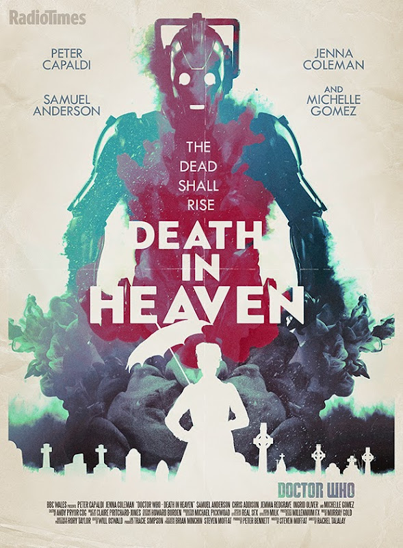 Doctor Who Death in Heaven retro poster