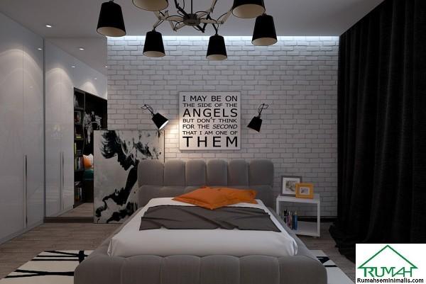 Kumpulan Denah Model Desain Gambar Kamar Tidur Minimalis Mewah