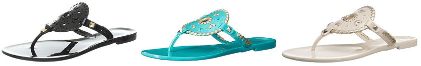 Jack Rogers Georgica Jelly Sandals as low as $13 (reg $49)